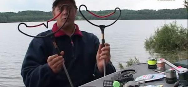 рыболовные снасти стойка под фидерные удилища
