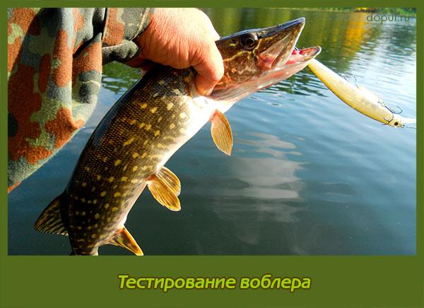 рыболовная насадка воблер