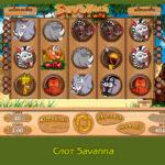 Играйте в игровые автоматы 777 на слоте Savanna