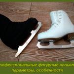 Профессиональные фигурные коньки – параметры, особенности