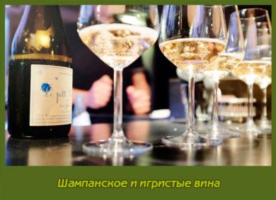Шампанское и игристые вина